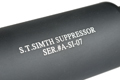 Action S.T. Simth Silencer (180mm / Black)