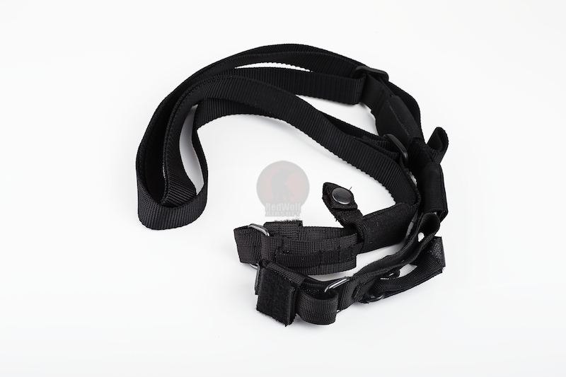 Milspex Three Point Tactical Sling - Black<font color=red>(Clearance)</font>