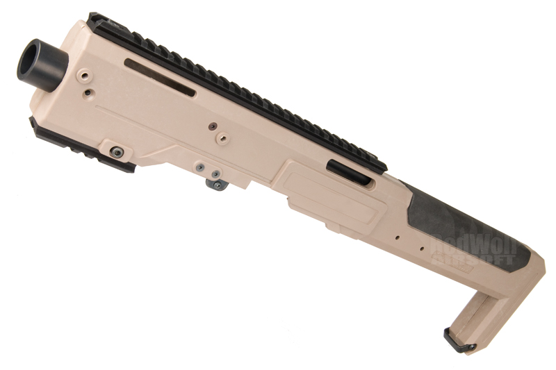 AABB HR Style Carbine Conversion Kit for Tokyo Marui 17 / 18 (Dark Earth)