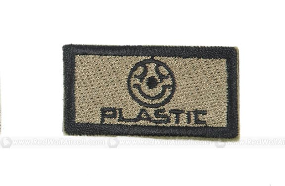 Action Plastic Patch (Green)