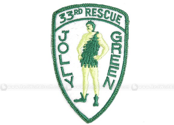 Action Velcro Patch - 33rd Rescue Patch Jolly Green