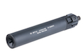 Angry Gun Silencer for KSC / KWA MP7 -Black