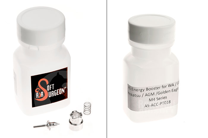 Airsoft Surgeon Energy Booster for (WA) Western Arms / G&P / INOKATSU / AGM / Golden Eagle Gas BlowBack M4 Series