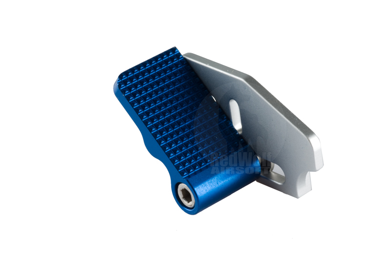 Airsoft Surgeon Adjustable Thumb Rest For Hi Capa 5.1 (Blue)