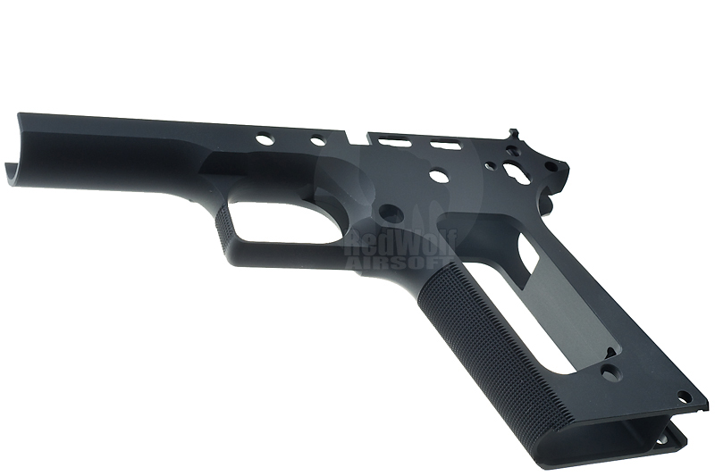 Airsoft Surgeon Limted Single Stack TM 1911 Frame (Squre Trigger Guard / Black)