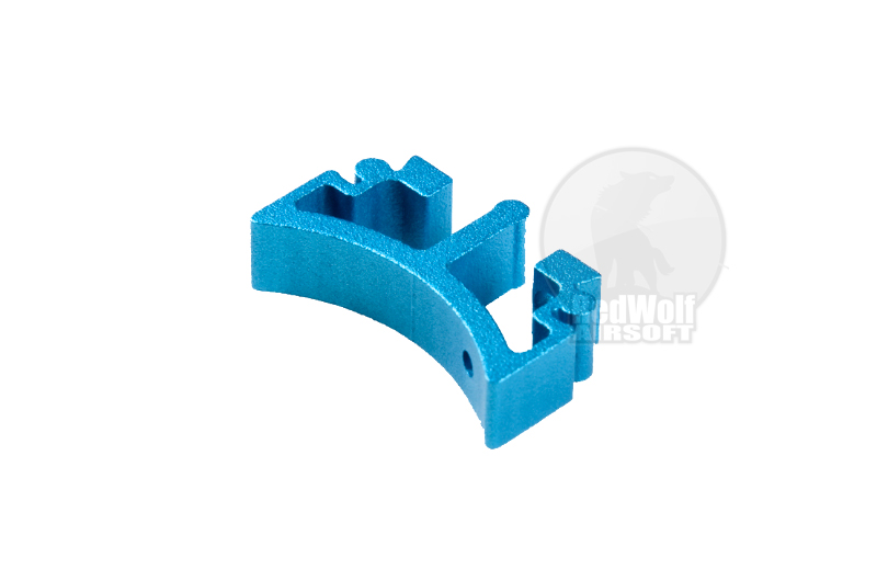 Airsoft Surgeon SV Trigger Front Part for Tokyo marui Hi-Cap - Type 3 (Blue)