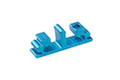 Airsoft Surgeon SV Trigger Front Part for Tokyo marui Hi-Cap - Type 6 (Blue)