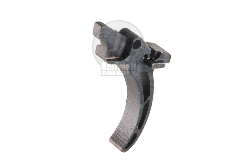 Airsoft Surgeon Steel Trigger For Systema PTW M4 - Round Type