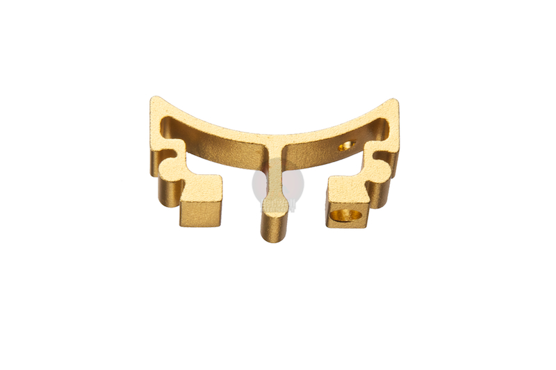 Airsoft Surgeon SV Trigger Front Part for Tokyo Marui Hi-Cap - Type 4 (Gold)