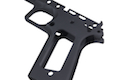 Airsoft Surgeon Limted Single Stack TM 1911 Frame Infinity (Square Trigger Guard / Black)