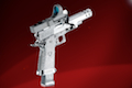 Airsoft Surgeon Swarovski Crystal Blanc Luxury Infinity Silver Open