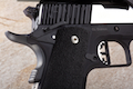 Airsoft Surgeon Infinity Caspsicum Two Tone 1911 Open