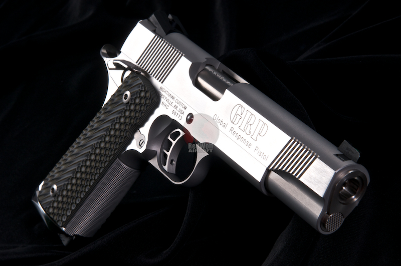 Airsoft Surgeon NightHawk Custom Super Grade 1911 (Stainless Finish)