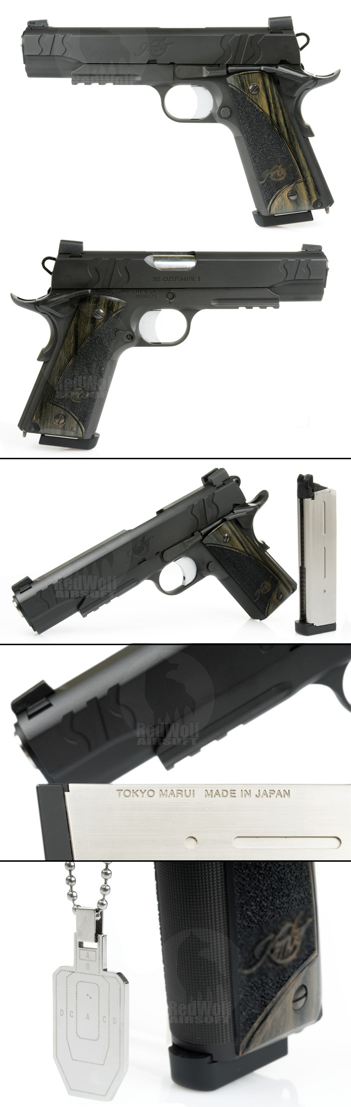Airsoft Surgeon Custom Kimber style SIS