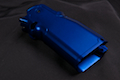Airsoft Surgeon Infinity CNC Aluminum Grip Sand paper Version - Blue
