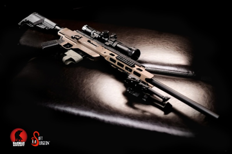 Airsoft Surgeon Custom T21 Gas Sniper Rifle
