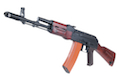 APS AK74 Real Wood with Side Scope Mount Electric Blowback - AEG