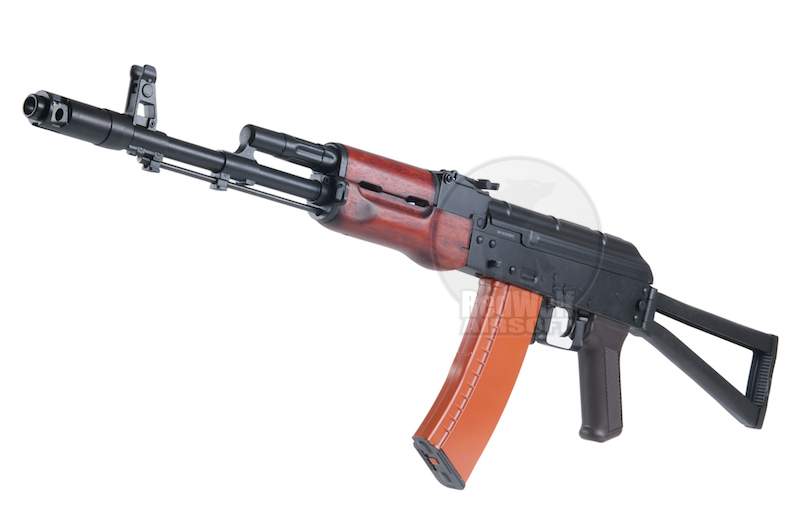 APS AK74S Real Wood Electric Blowback - AEG