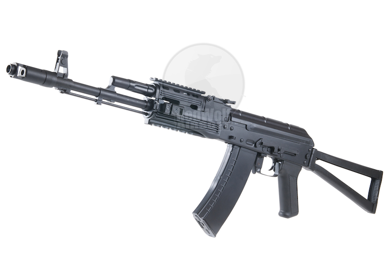 APS AKS-74 Tactical With Side Scope Mount Electric Blowback - AEG<font color=red> (Holiday Blowout Sale)</font>