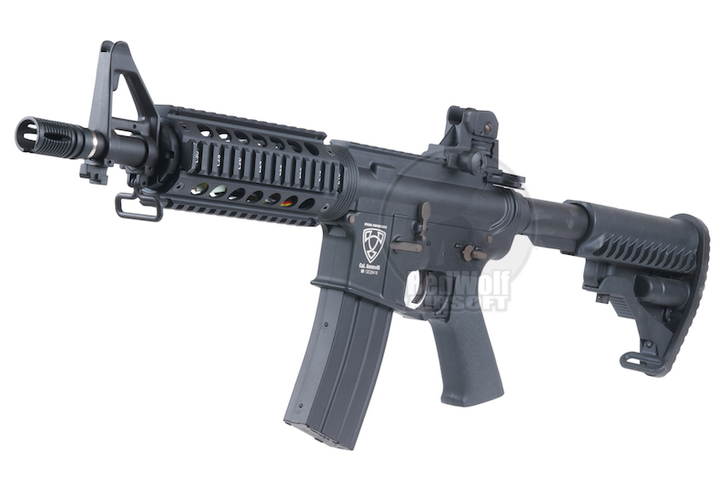 APS M4 CQB Electric Blowback - AEG<font color=red> (Holiday Blowout Sale)</font>