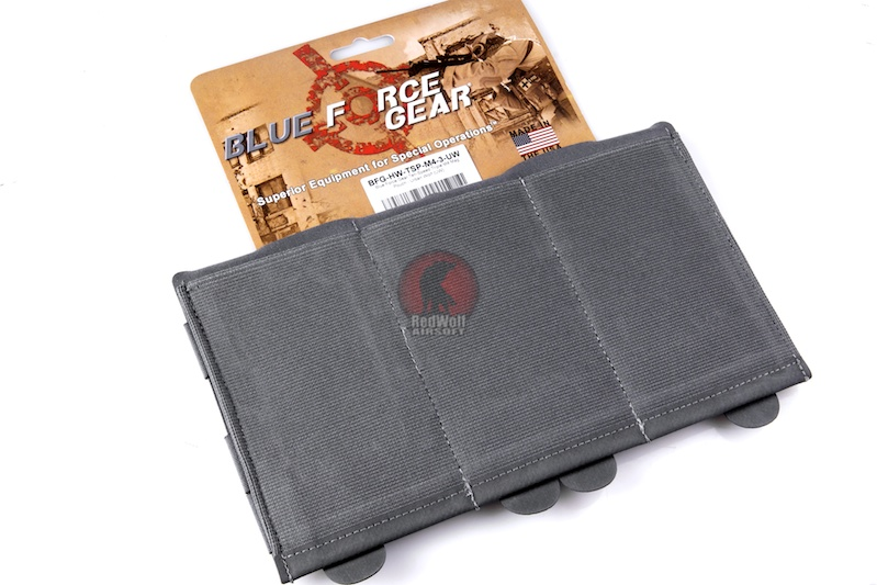 Blue Force Gear Ten-Speed Triple M4 Mag Pouch - Urban Wolf (UW)