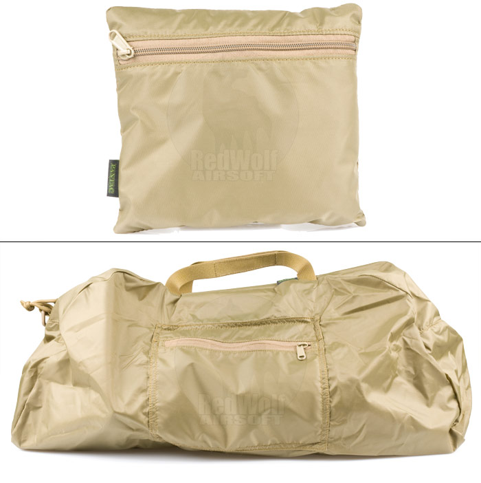 PANTAC Foldable Bag (Khaki / Medium / Cordura)