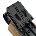 Blade-Tech Kydex WRS Right Handed Duty Holster for SIG P226R with Tek Lok Attachment (Dark Earth)