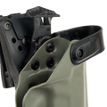 Blade-Tech Kydex WRS Right Handed Duty Holster for SIG P226R with Tek Lok Attachment (Foliage Green)