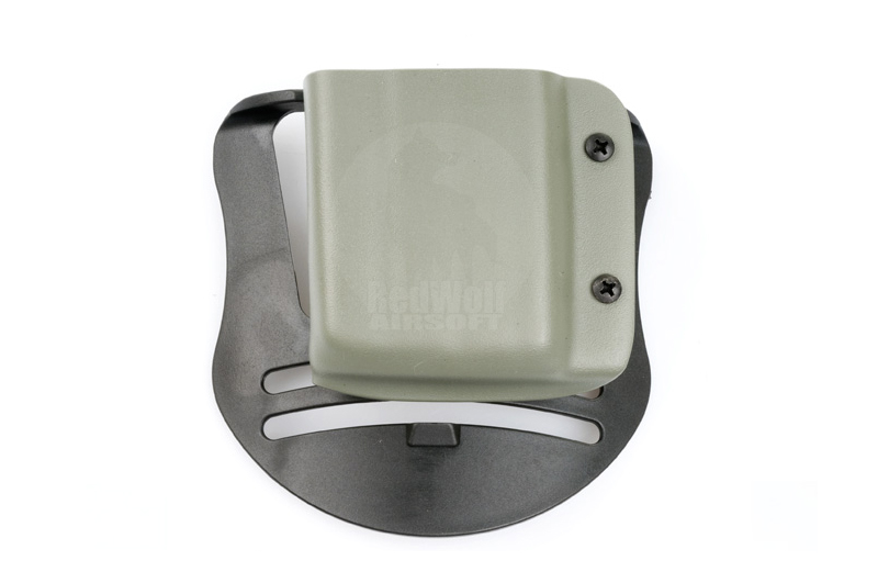 Blade-Tech Kydex Mag Pouch for AR-15 Magazines w/ Paddle (Right Hand, Foliage Green)(30043)