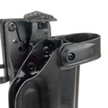 Blade-Tech Kydex WRS Right Handed Duty Holster for G17/22/31 with ASR Attachment (Black)