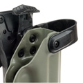 Blade-Tech Kydex WRS Right Handed Duty Holster for G17/22/31 with ASR Attachment (Foliage Green)
