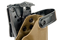 Blade-Tech Kydex WRS Right Handed Duty Holster for G17/22/31 with Tek Lok Attachment (Dark Earth)