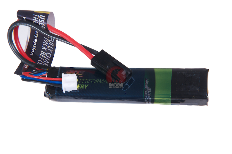 BOL Li Po Battery 7.4V 1100mah (Small - Tamiya)