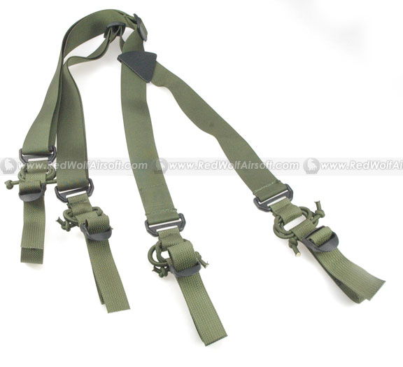 PANTAC HS Low Drag Suspenders (OD)