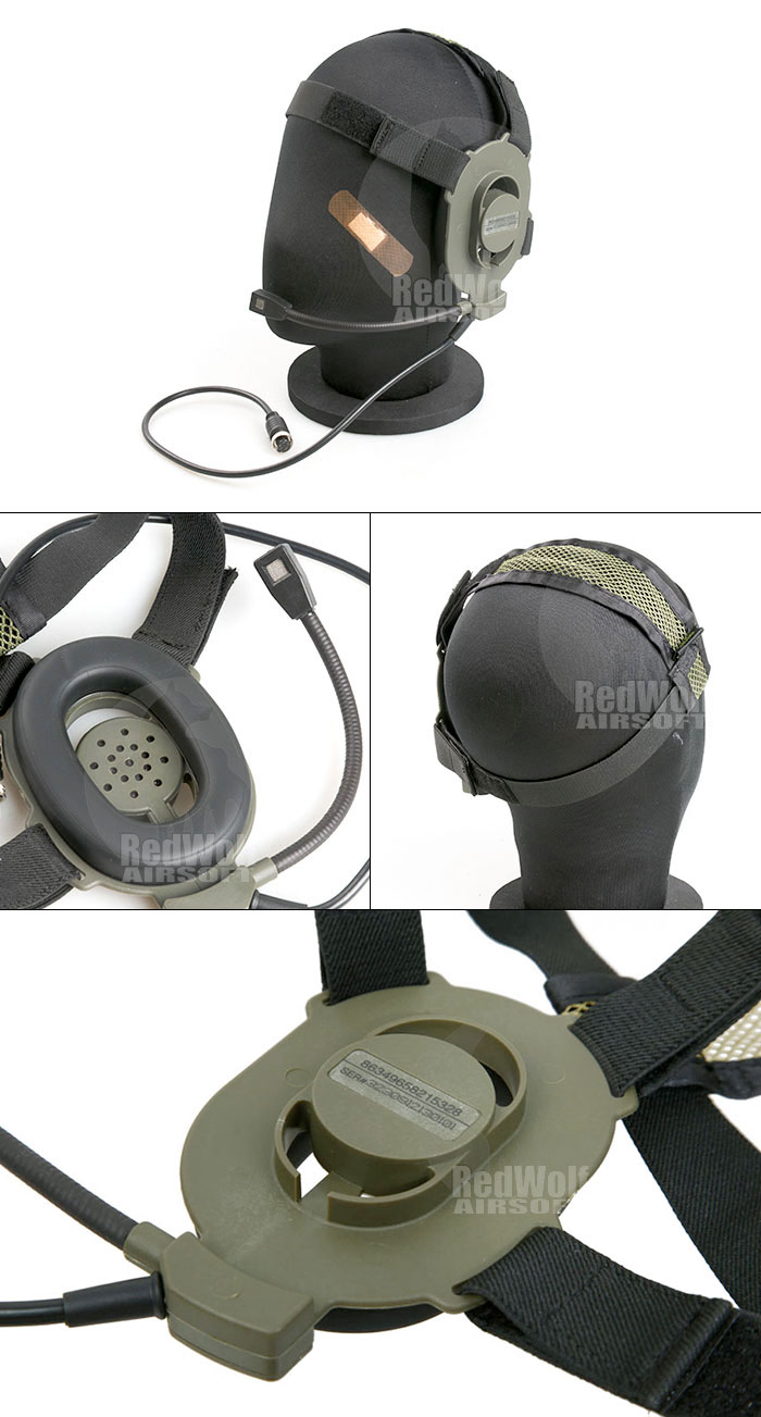 Cavalvy Elite II Headset Only (OD)