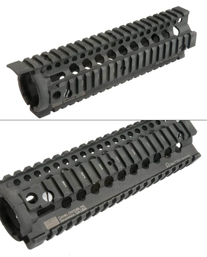 Madbull Daniel Defense 9inch Omega Rail (Black)