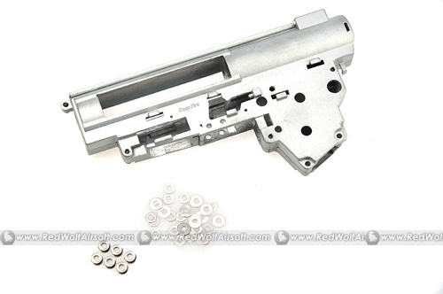 Deep Fire Reinforced Gearbox Case Ver.III with 6mm Bearing for AK