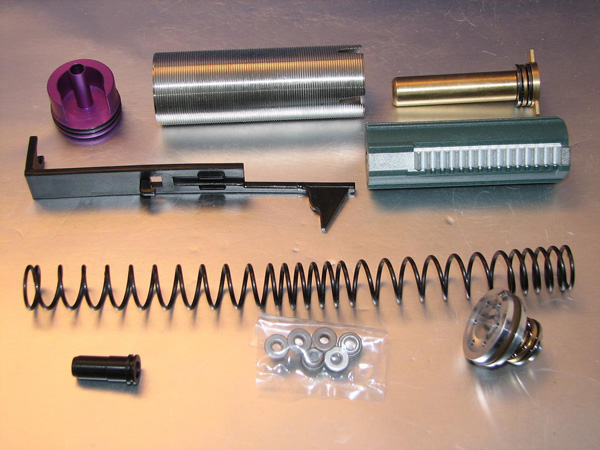 Deep Fire Full Tune Up Kit for Marui SIG 550 (M120 Enlarged Set) (Bore Up Version)