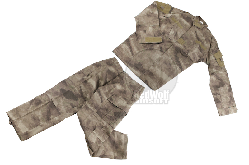 TMC Field Shirt & Pants R6 style Uniform (A-TACS) - Medium