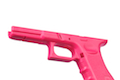 FMA GBB Model 17/18C Lower Receiver Frame For Marui / WE 17 / 18C GBB ( Pink )