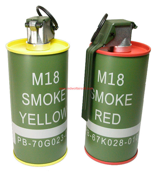 G&G M18 Smoke Grenade B.B. Can Set
