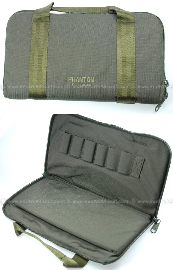 Pantac Pistol Carry Bag (Large / OD / Cordura)