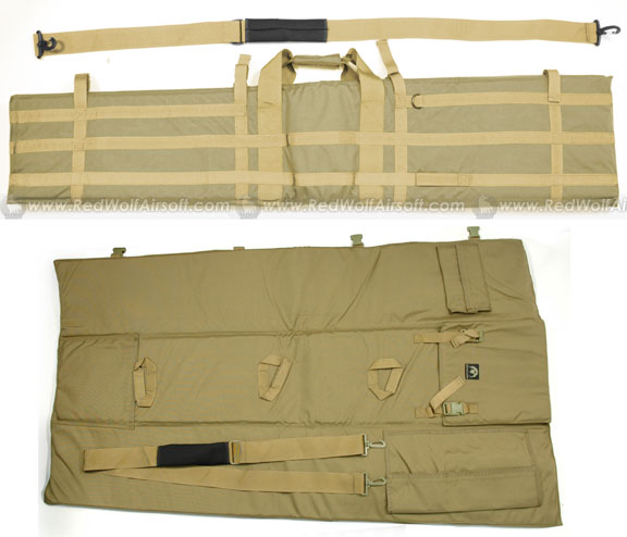 PANTAC Tactical Sniper Rifle Carry Bag (Khaki / CORDURA / 1300mm)