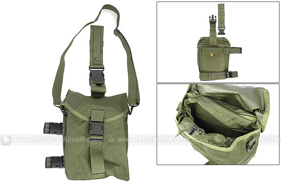 Guarder Gas Mask Bag for MOD Tactical Vest (OD)