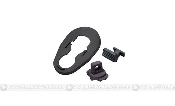 Guarder Steel Bolt Stop/Gasblock/Handguard Ring for Marui SIG552