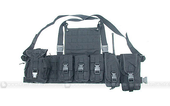 Guarder MOD Tactical Vest (Black)