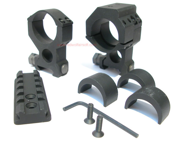 G&G High Scope Ring for 20mm Rail