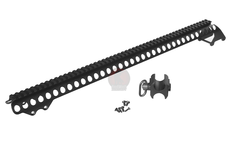 G&P M870 Receiver Rail Set (Long / Black)