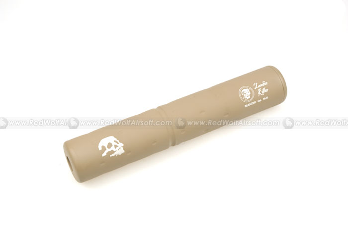 G&P Zombie Killer Silencer (14mm CCW) (Sand)