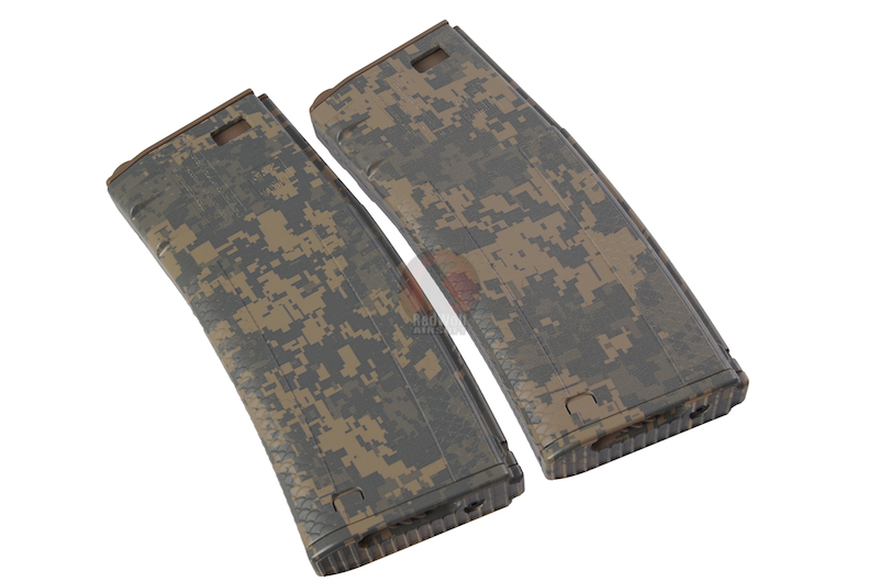 G&P x Socom Gear - Troy Licensed 340rds Hi-Cap Battle Magazine - ACU